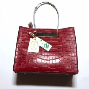 Handbags - NWT Isabelle Vegan Leather Convertible Bag